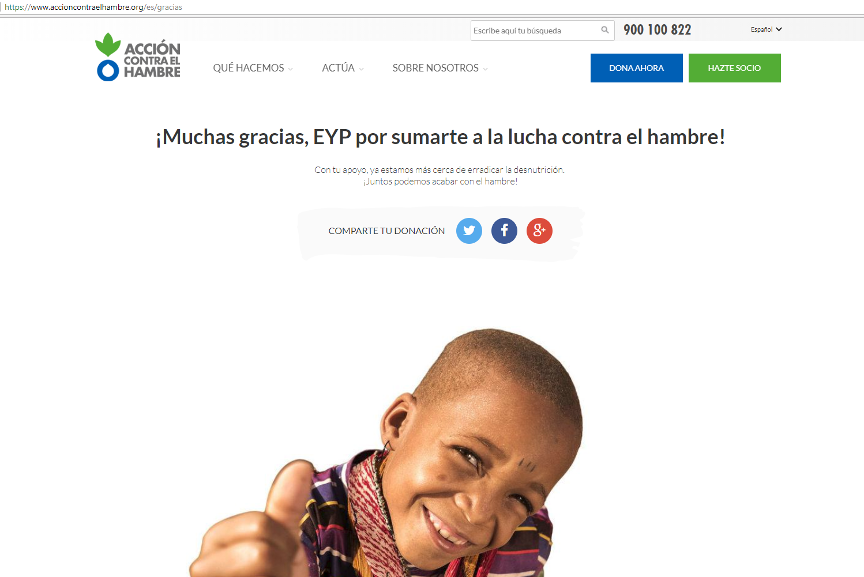 (Español) EyP Consulting continúa su compromiso con la Sostenibilidad